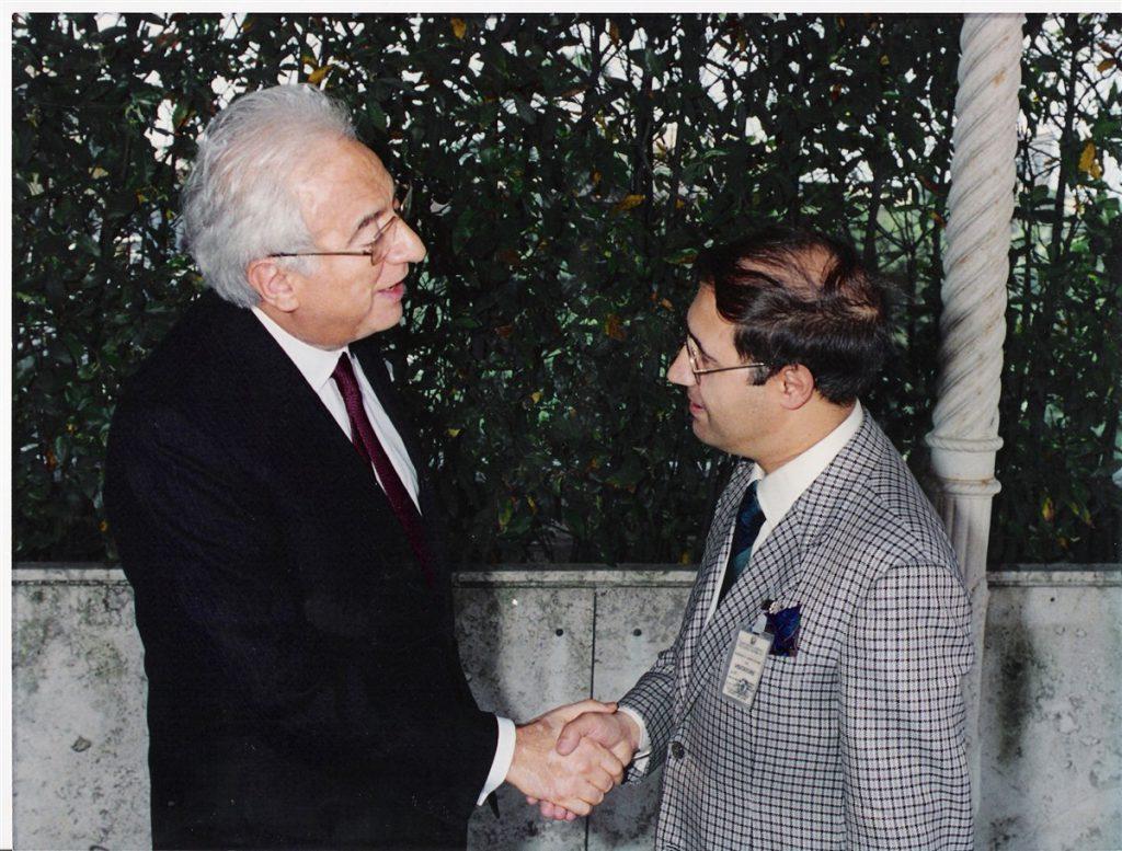 Al Quirinale con il Presidente Cossiga